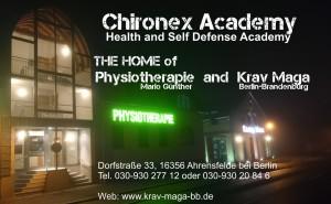 Chironex Academy Straßenfront